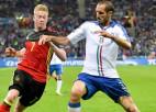 """""""Euro 2020"""" ceturtdaļfinālā Beļģija pret Itāliju un Spānija pret Šveici"""