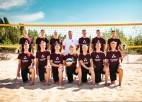 Latvijas pludmales volejbola U-20 izlase dodas ceļā uz EČ Turcijā