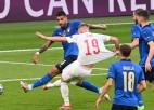 """Video: """"Euro 2020"""" pirmā pusfināla 11m sitienos Itālija sarūgtina spāņus"""