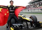 """Nākamgad pirmo reizi """"Formulā 1"""" varētu startēt pilots no Ķīnas"""