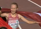 Video: Caune pārsteidz un pārliecinoši izcīna U20 EČ sudrabu 5000 metros