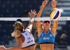 Eiropiešu savstarpējās cīņās panākumi Krievijas un Spānijas pludmales volejbolistēm