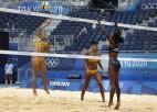 Ana Patrisija/Rebeka bez lielas piepūles sakauj kenijietes, pasaules čempionēm otrā uzvara