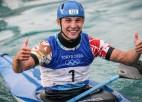 Tokijas OS kanoe sacensības noslēdzas ar čeha Prskaveca uzvaru