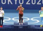 Benčiča Tokijā paveica to, kas olimpiskajās spēlēs neizdevās Federeram un Hingisai
