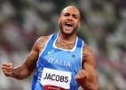 Pārsteigums: Džeikobss atnes Itālijai pirmo triumfu 100 metru sprintā OS vēsturē