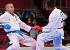 Karatists Kalniņš nesasniedz olimpisko spēļu turnīra pusfinālu