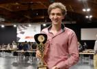 """""""RTU Open 2021"""" šaha festivālā triumfē Vācijas lielmeistars, latvietis Kovaļenko nenosargā vadību"""