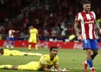 Mandī neveiksmīgi iesit savos vārtos, ''Atletico'' izrauj punktu pret ''Villarreal''