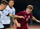 Latvijas U21 izlase pret Vāciju iesit pirmā, tomēr cieš zaudējumu