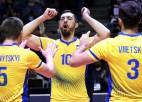 Krastiņa trenētā Ukraina pēdējā grupas spēlē zaudē Polijai, bet iekļūst 1/8 finālā