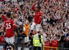 Ronaldu ''Old Trafford'' stadionā atgriežas ar diviem vārtiem un uzvaru pret Ņūkāslu