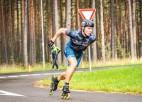 Znotiņš ar Jankovsku ātrākie Latvijas čempionātā 5km skrituļslidošanā