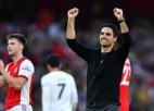 Arteta uzvaru velta faniem, Santoss ļoti neapmierināts ar sniegumu laukumā
