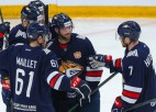 """KHL smagsvaru cīņā """"Metallurg"""" pieveic """"Ak Bars"""" un nostiprinās līderpozīcijā"""