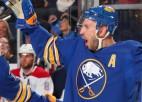 """Video: Kapteiņa asistents Girgensons šosezon sāk ar 1+1, satriecot """"Canadiens"""""""