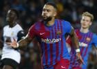 """""""Barcelona"""" ielaiž jau piektajā minūtē, taču atgriežas uz uzvaru takas"""