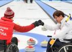 Latvijas ratiņkērlinga izlase tiek pie otrās uzvaras pasaules čempionātā