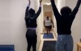 Video: Dūšīgs dankotājs finišē pārāk spēcīgi