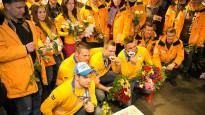 Latvijas sudraba bobslejisti atgriezušies no Soču olimpiādes