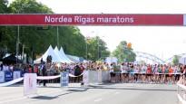Rīgas maratonā ātrākie ārzemnieki