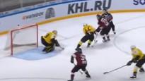 Indraša un Lipona sadarbība - KHL nedēļas vārtu guvumos