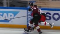 Rīdziniekam Jeļisejevam ceturtais labākais spēka paņēmiens KHL nedēļā