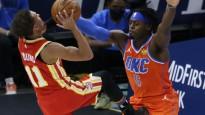 Juceklis NBA - līdzīgo formu ķibele tiek atrisināta tikai puslaika pārtraukumā