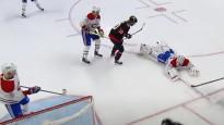 NHL nedēļas atvairījumos triumfē vārtsargs ar drosmīgu izgājienu