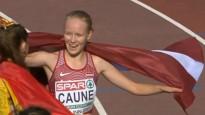 Caune pārsteidz un pārliecinoši izcīna U20 EČ sudrabu 5000 metros