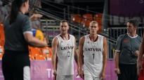 3x3 basketbols Tokijā skaitļos: Latvijai labākais uzbrukums turnīrā