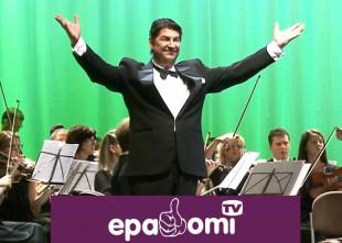 Video: Operete svētku laikā priecē ar dzirkstošiem koncertiem