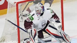 """""""Blue Jackets"""" fonds Kivlenieka piemiņai ziedo 80 tūkstošus Latvijas Hokeja federācijai"""