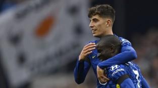 """Kantē vārti pirmo reizi kopš 2019. gada, """"Chelsea"""" viegli pārspēj """"Tottenham"""""""