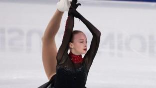 """Jaunā daiļslidotāja Fomčenkova piedalījusies divos ISU junioru """"Grand Prix"""" posmos"""