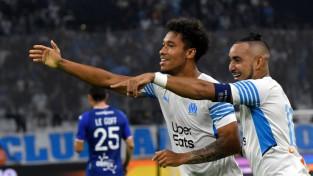 ''Marseille'' uzvar un pakāpjas uz trešo vietu, ''Nice'' paklūp pret ''Troyes''