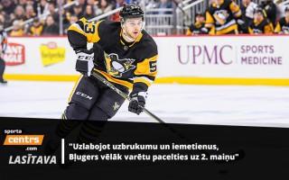 """Kāda būs Bļugera loma komandā un cik augstu tēmē """"Penguins""""?"""
