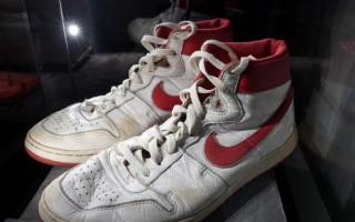 Leģendārā Maikla Džordana sporta apavi izsolē pārdoti par 1,47 miljoniem dolāru