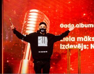 Zināmi Zelta Mikrofons 2021 laureāti. Lielākais ieguvējs reperis ansis