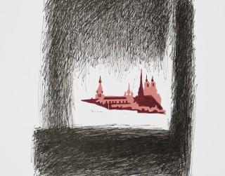 Pilsēta. Daugavpils: Grafikas kolekcijas izstāde Latgales Centrālajā bibliotēkā