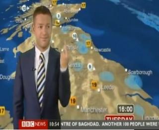 """""""Fuck You"""" BBC laika ziņu tiešajā ēterā (Video)"""