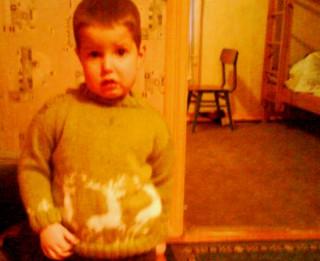 Džemperis zēnam ar briedīša attēliem