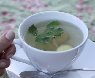 Īpašā ingvera tēja veselībai un siltumam