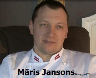 """Video: """"Ar pelēkajiem zirņiem pasauli nepārsteigsim"""": šefpavārs Māris Jansons. Videointervija"""