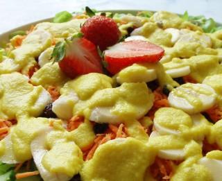 Eksotiskie dārzeņu salāti