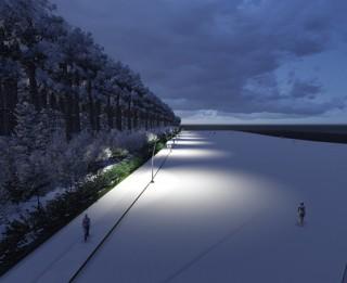 Drīzumā Majoru pludmale tumšajā laikā būs izgaismota