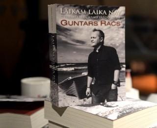"""Guntars Račs dalīsies atmiņās par """"Līviem"""" un prezentēs savu jaunāko grāmatu"""