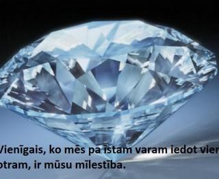 28. marta dienas akmens- DIMANTS