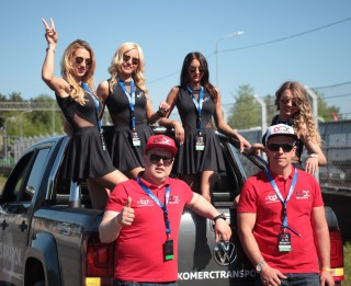 Latvijas Rallijkrosa kausa 1.posmā dominēja vietējie sportisti