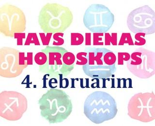 Tavs dienas horoskops 4. februārim